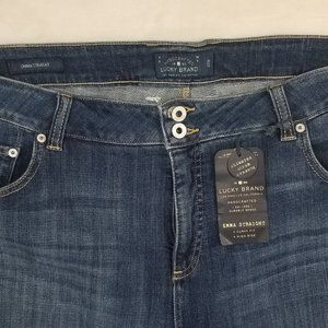 Lucky Brand Womens Emma Straight Jeans 20W Hi Rise